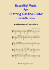 Beautiful Music For 10-string Classical Guitar, Seventh Book