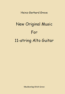 New Original Music For 11-string Alto Guitar
