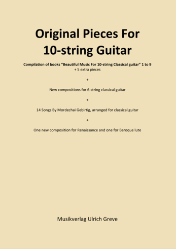 Original Pieces For 10-string Guitar And Other