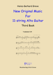 New Original Music For 11-string Alto Guitar, Third Book