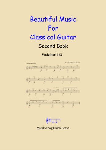Beautiful Music For Classical Guitar, Second Book