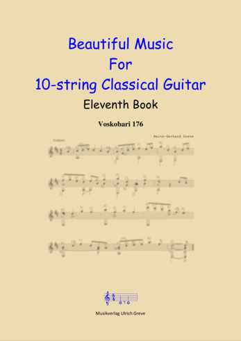 Beautiful Music For 10-string Classical Guitar, Eleventh Book