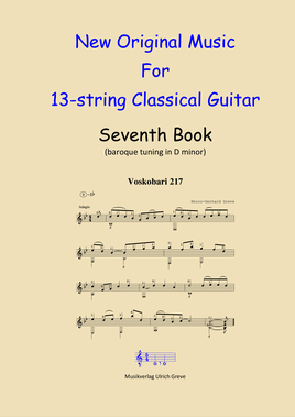 New Original Music For 13-string Classical Guitar, Seventh Book