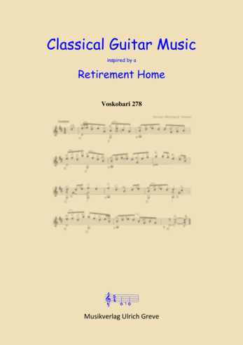 Classical Guitar Music inspired by a Retirement Home