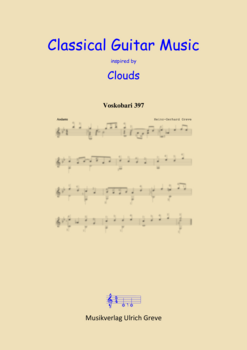 Classical Guitar Music inspired by Clouds